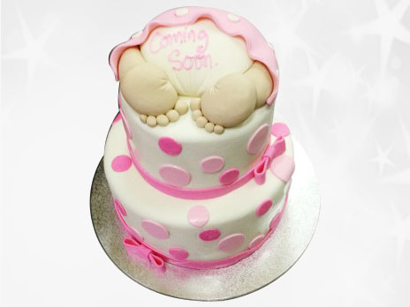 Baby Shower Cakes-BS09