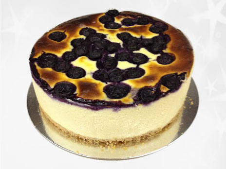 Standard Cakes-Baked Blueberry cheese cake