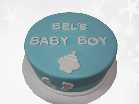Baby Shower Cakes-N534